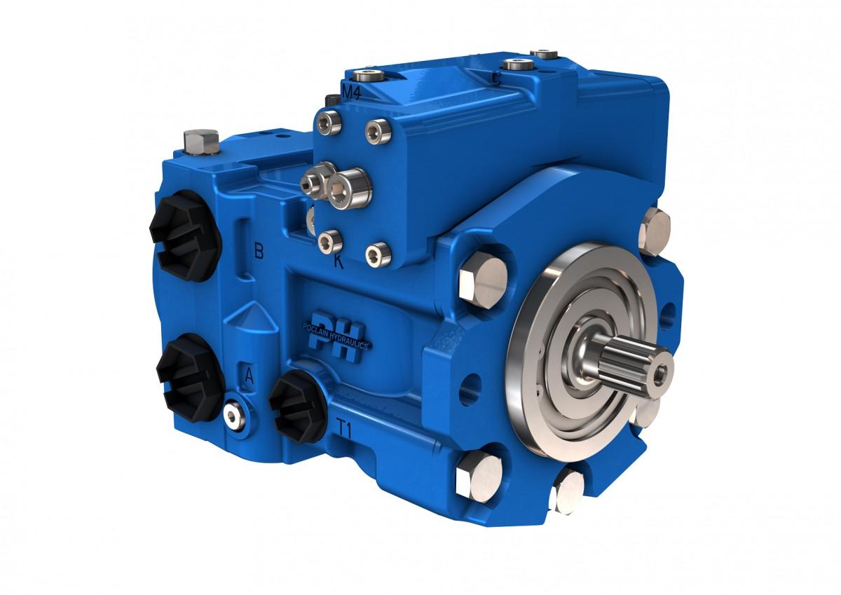 Гидронасос Poclain Hydraulics PM50-45