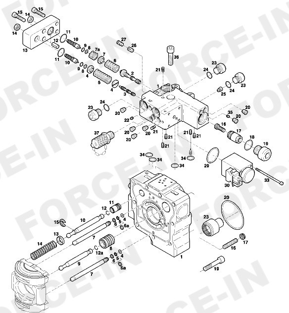 Комплект ремонтных шайб  HPR210